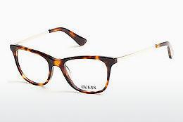 Occhiali design Guess GU2532 053 - Avana, Yellow, Blond, Brown
