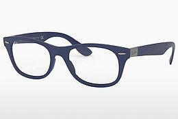 Lunettes design Ray-Ban RX7032 5207 - Bleues