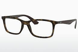 Occhiali design Ray-Ban RX7047 5573 - Marrone, Avana