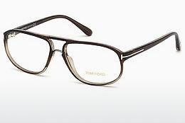 Occhiali design Tom Ford FT5296 050 - Marrone, Dark