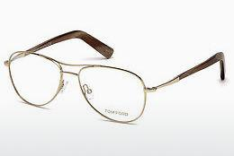 Occhiali design Tom Ford FT5396 028 - Oro