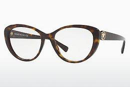 Occhiali design Versace VE3246B 108 - Marrone, Avana