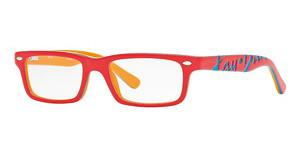Ray-Ban Junior RY1535 3599 TOP CORAL ON ORANGE