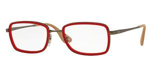 Ray-Ban RX6336 2856 RUBBER RED