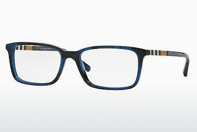 Lunettes design Burberry BE2199 3546 - Bleues