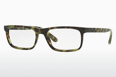 Occhiali design Burberry BE2240 3280 - Verde, Marrone, Avana