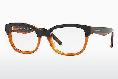 Designerbrillen Burberry BE2257 3650 - Schwarz, Orange
