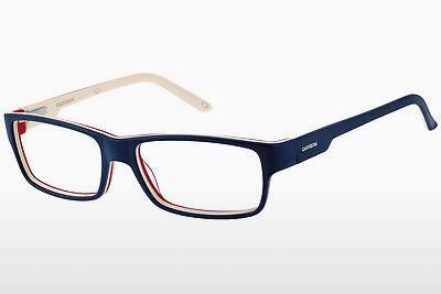 Lunettes design Carrera CA6183 8W3 - Bleues, Blanches, Rouges