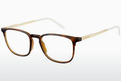 Lunettes design Carrera CA6666 0KS - Or, Brunes, Havanna