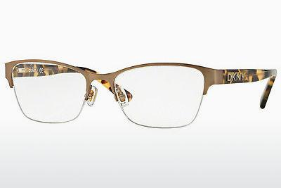 Lunettes design DKNY DY5653 1227 - Or, Brunes, Havanna