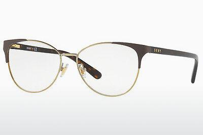 Lunettes design DKNY DY5654 1238 - Brunes, Or