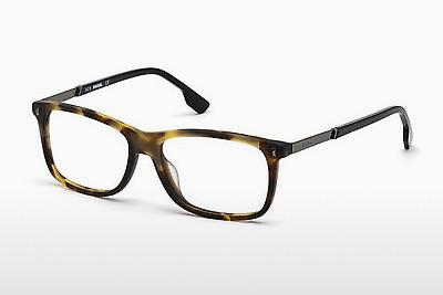 Lunettes design Diesel DL5199 055 - Multicolores, Brunes, Havanna