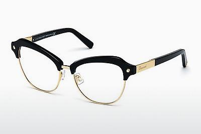 Occhiali design Dsquared DQ5152 001 - Nero, Shiny