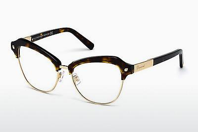 Occhiali design Dsquared DQ5152 052 - Marrone, Avana