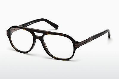 Occhiali design Dsquared DQ5157 052 - Marrone, Dark, Havana