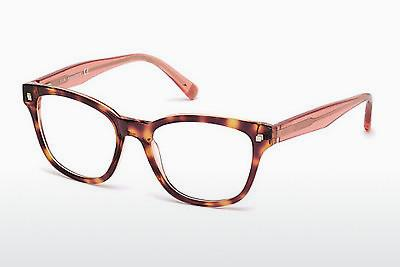 Lunettes design Dsquared DQ5179 055 - Multicolores, Brunes, Havanna