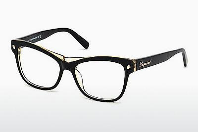 Occhiali design Dsquared DQ5196 003 - Nero, Transparent