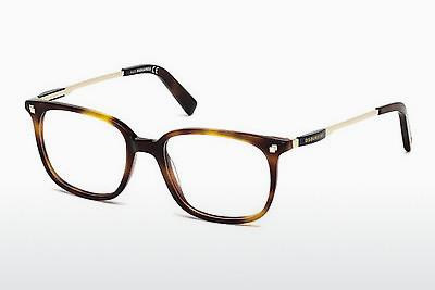 Occhiali design Dsquared DQ5198 052 - Marrone, Avana