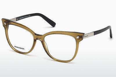 Occhiali design Dsquared DQ5214 045 - Marrone, Bright, Shiny