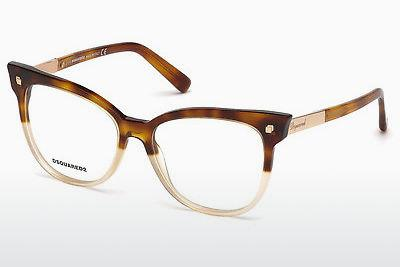 Occhiali design Dsquared DQ5214 055 - Multicolore, Marrone, Avana