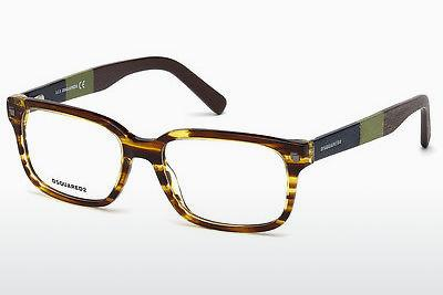 Occhiali design Dsquared DQ5216 047 - Marrone, Bright