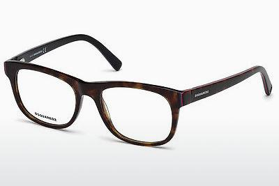 Occhiali design Dsquared DQ5217 052 - Marrone, Avana