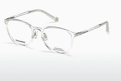 Lunettes design Dsquared DQ5220 026 - Blanches