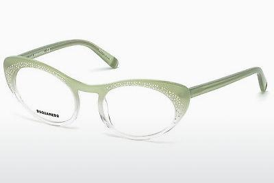 Occhiali design Dsquared DQ5224 094 - Verde, Matt