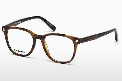 Occhiali design Dsquared DQ5228 053 - Avana, Yellow, Blond, Brown