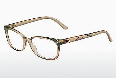 Lunettes design Gucci GG 3699/N Z9X - Blanches, Flowers