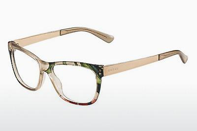 Lunettes design Gucci GG 3741 2FX - Blanches, Flowers, Or