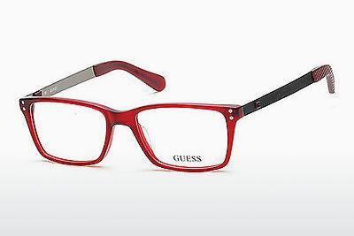Occhiali design Guess GU1869 070 - Borgogna, Bordeaux, Matt
