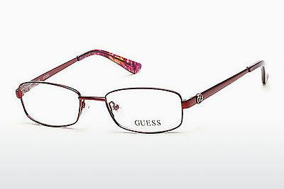 Occhiali design Guess GU2524 070 - Borgogna, Bordeaux, Matt