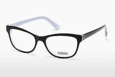 Occhiali design Guess GU2527 003 - Nero, Transparent