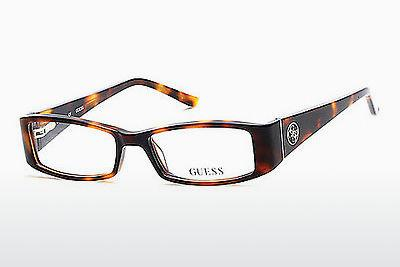 Occhiali design Guess GU2537 052 - Marrone, Dark, Havana