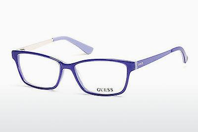 Occhiali design Guess GU2538 086 - Blu, Azurblue