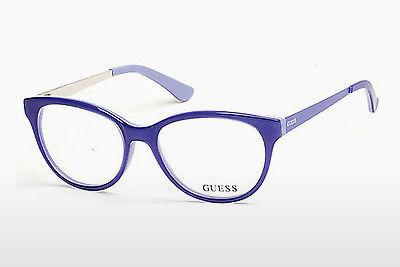 Occhiali design Guess GU2539 086 - Blu, Azurblue