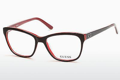Occhiali design Guess GU2541 070 - Borgogna, Bordeaux, Matt