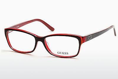 Occhiali design Guess GU2542 070 - Borgogna, Bordeaux, Matt
