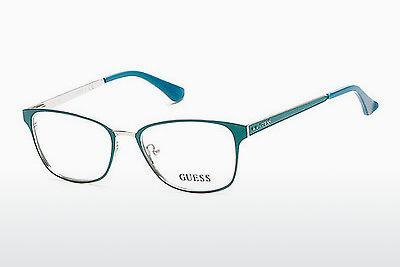 Lunettes design Guess GU2550 094 - Vertes, Bright, Matt