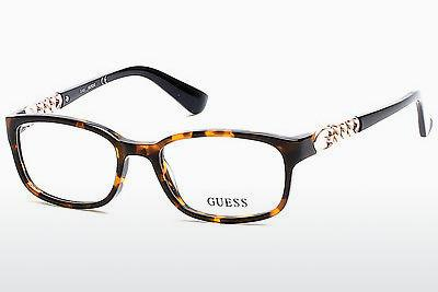 Occhiali design Guess GU2558 052 - Marrone, Dark, Havana