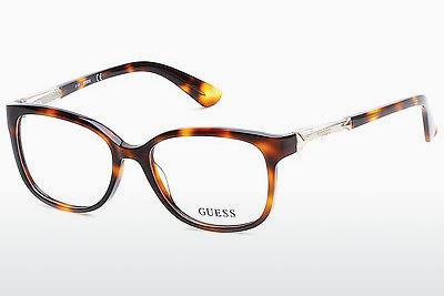 Occhiali design Guess GU2560 052 - Marrone, Dark, Havana