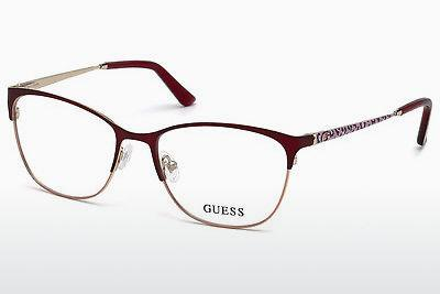 Occhiali design Guess GU2583 070 - Borgogna, Bordeaux, Matt
