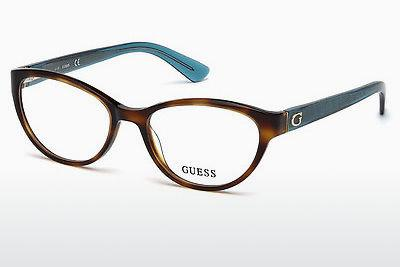 Occhiali design Guess GU2592 052 - Marrone, Dark, Havana