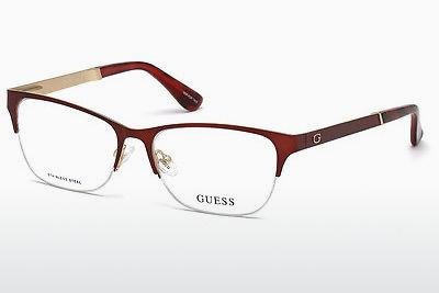 Occhiali design Guess GU2627 070 - Borgogna, Bordeaux, Matt