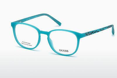 Occhiali design Guess GU3009 085 - Blu, Matt