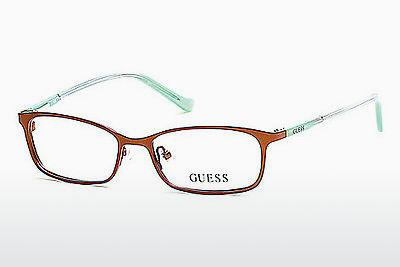 Occhiali design Guess GU9155 046 - Marrone, Matt