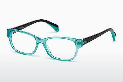 Lunettes design Just Cavalli JC0768 087 - Bleues, Turquoise, Shiny