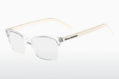 Lunettes design Karl Lagerfeld KL774 074 - Blanches, Transparentes
