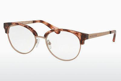 Lunettes design Michael Kors ANOUK (MK3013 1144) - Rose, Brunes, Havanna, Or